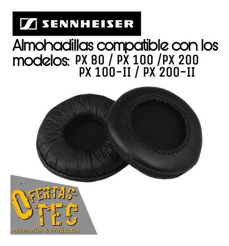 almohadillas para audifonos sennheiser px80, px100, px200