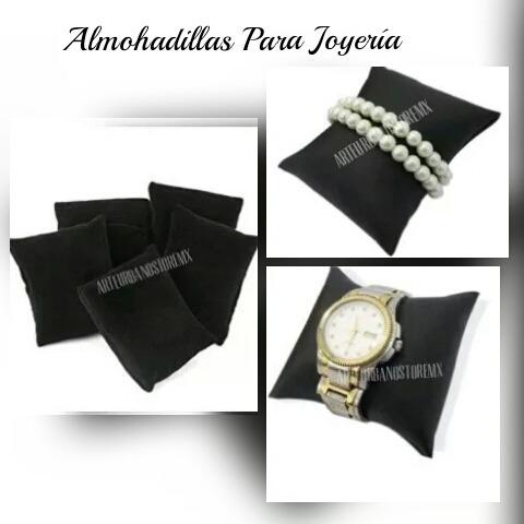 almohadillas para joyería (pulseras y relojes) en $28 cada/u