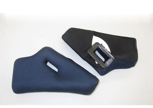 almohadillas p/mejilla agv k3 repuesto azul md
