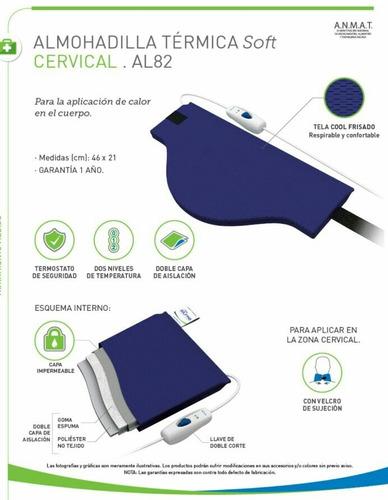 almohadillas térmicas silfab (large,small,cervical,cintura)