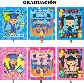 Almohadita Graduación Escolar Kinder Primaria 40 Piezas