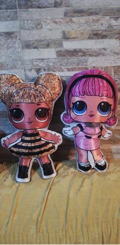 almohaditas muñecas lol surprise  grande y cualquier modelo