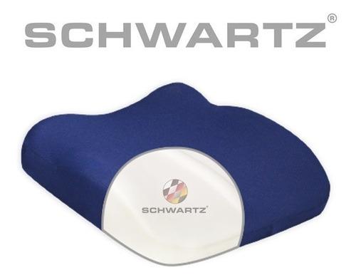 almohadon anatomico confort para asiento o respaldo lumbar schwartz