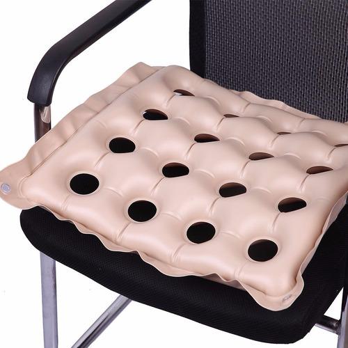 almohadón asiento inflable antiescaras opción respaldo