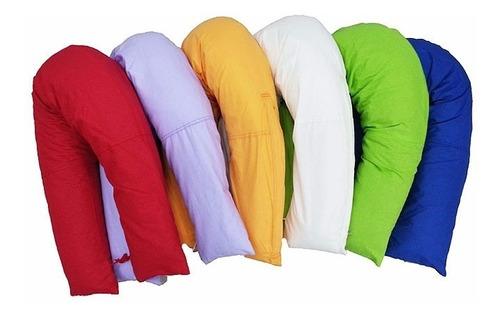 almohadon de amamantar/lactancia/descanso. funda desmontable