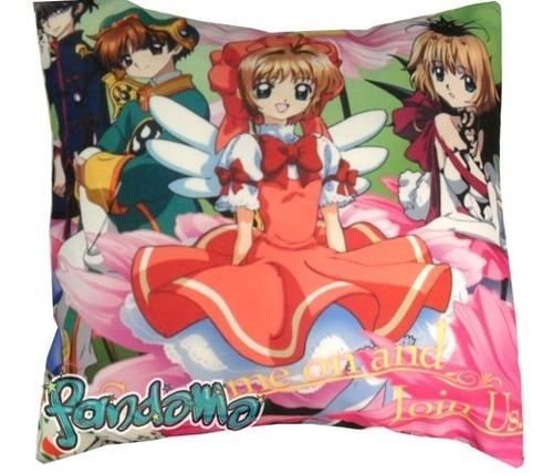 almohadón de anime clamp in wonderland sakura syaoran