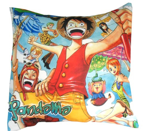 almohadón de anime one piece luffy nami zoro chopper usopp