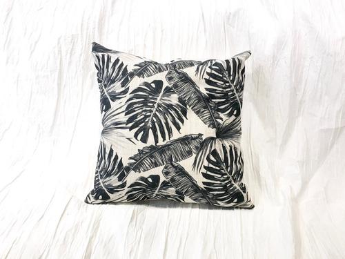 almohadón de lino estampado 40x40 o 50x30