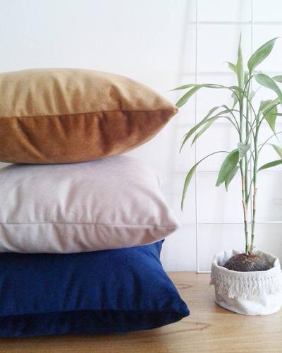 almohadón de pana 50x50cm