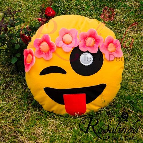almohadon emoji primavera regalos hermosos