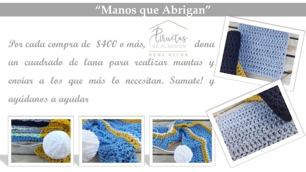 Almohadón Estrella Tejido A Crochet En Totora Talle S - $ 389,00 en ...