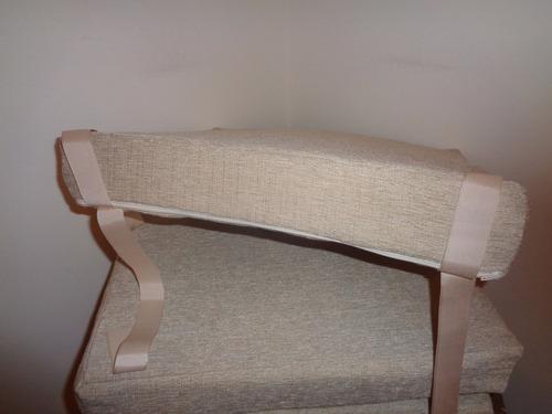almohadon jackard para sillas 40x 40 x 6 cms de alto