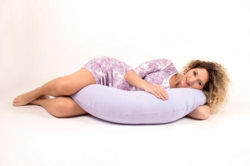 almohadón maternal extra grande eps + cuellito cervical bebe