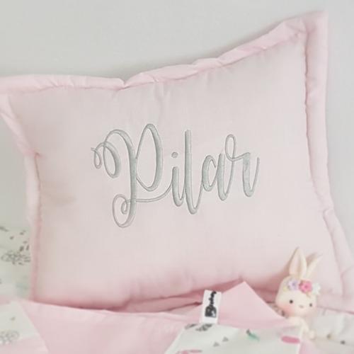 almohadon nombre bebe