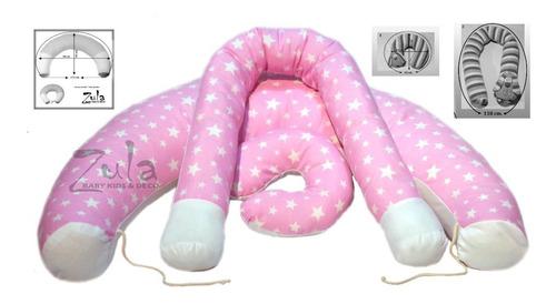almohadón para amamantar grande + nidito  + cuello cervical