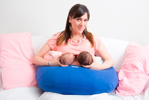 almohadón para dormir embarazada, para amamantar super relax