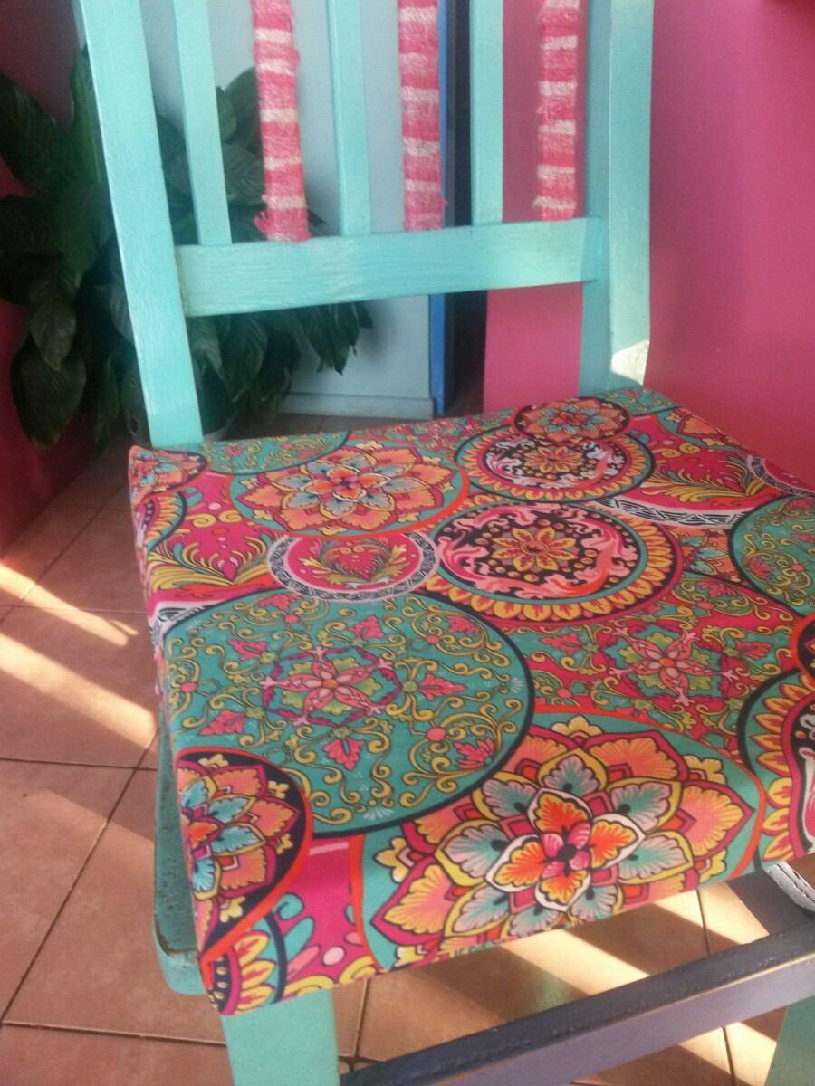 Almohad n para silla 40x40 24kg densidad funda gabardina - Relleno para sillas ...