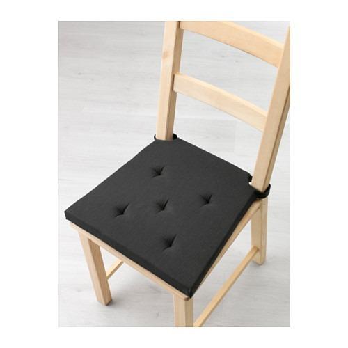 Justina Con Suecia Para Ikea De Silla Tiras Almohadón Negro vNwn0m8O