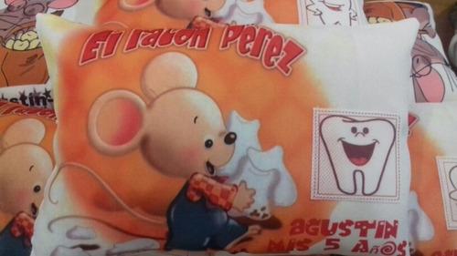 almohadon personalizado souvenirs raton - hadita x 10  20x30