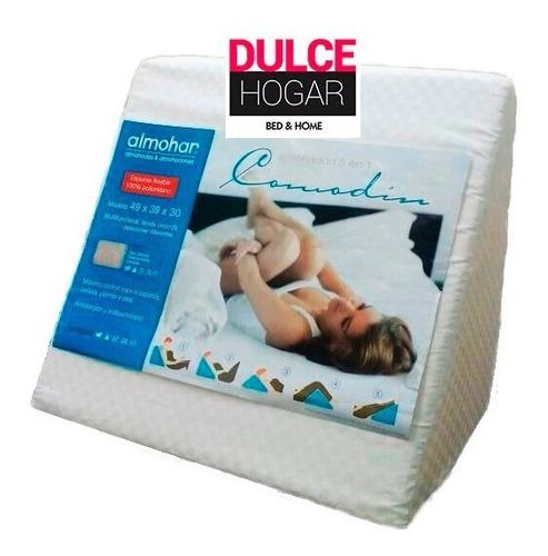 almohadon triangular de descanso 5 posiciones funda lavable