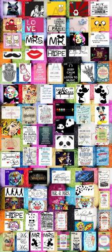 almohadones 40x40 personalizados estampados frases imagen