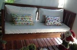 almohadones a medida con placa soft estampados/lisos