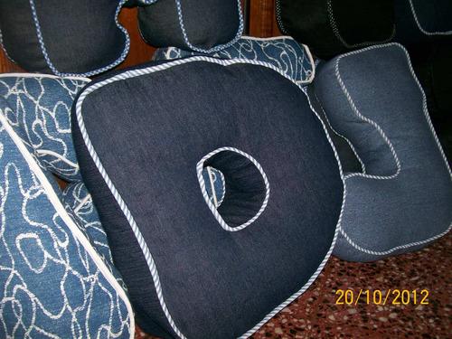 almohadones  alfabéticos  - con tu inicial o palabras.