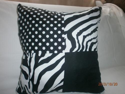 almohadones animal print