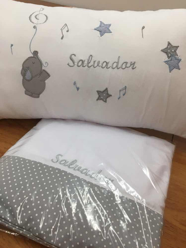 almohadones bordados personalizados bebes y niños
