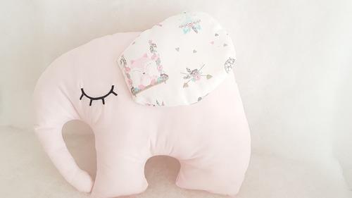 almohadones complemento chichonera linea elefantes bebe