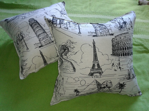 almohadones de diseño, coloridos y con mucha onda