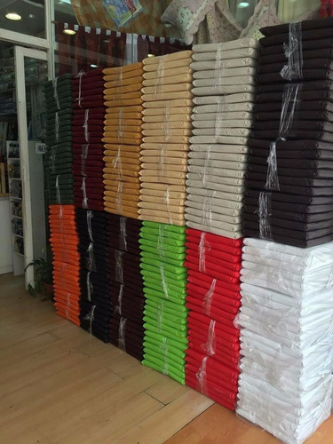 almohadones de silla ecocuero todos los colores precio por 6
