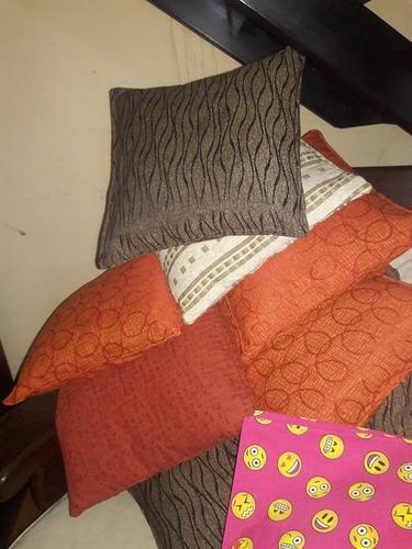 almohadones de sillones de algarrobo 50x50x10