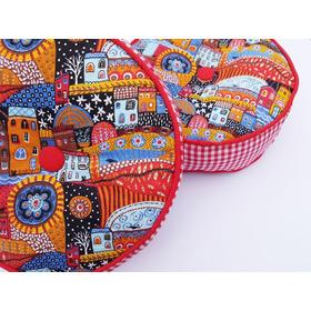 Almohadones Decorativos Redondos