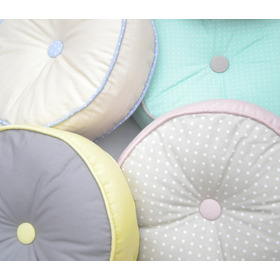 Almohadones Diseños Exclusivos Redondos Decorativos O Sillas