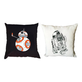 Almohadones Estampados Star Wars Rogue One Bb8 Episodio 8