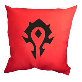 Almohadones Estampados World Of Warcraft Wow Horda Wilwarin