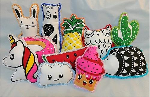 almohadones infantiles decorativos
