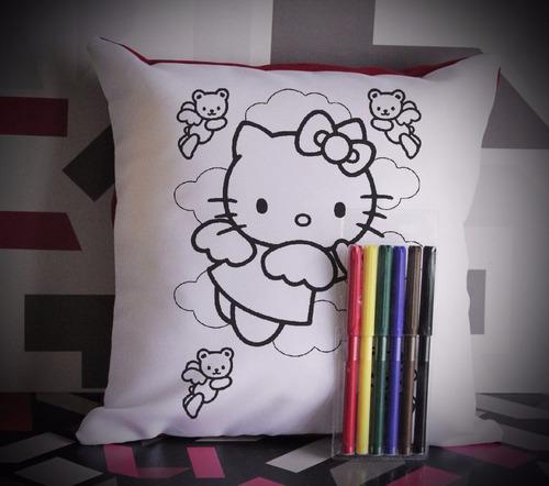 almohadones para pintar, lavar, y vovler a pintar!!!