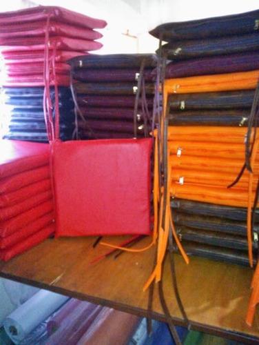 almohadones para sillas 0.40 x 0.40 x 5