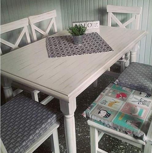 almohadones para sillas 40x40 estampado placa 4cm con cierre