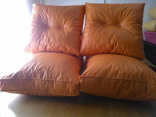 almohadones para sillones de algarrobo o pino