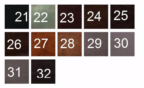 almohadones para sillones eco cuero medida 50x50x10