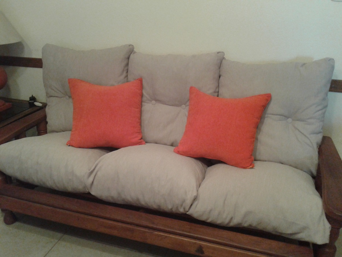Almohadones para sofa almohadones para sillones blancos for Telas para sillones