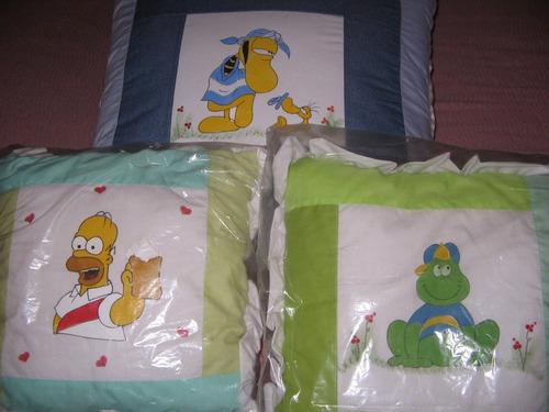 almohadones para ver comodamente la television