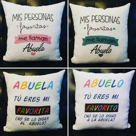 Almohadones Personalizados Día De Los Abuelos