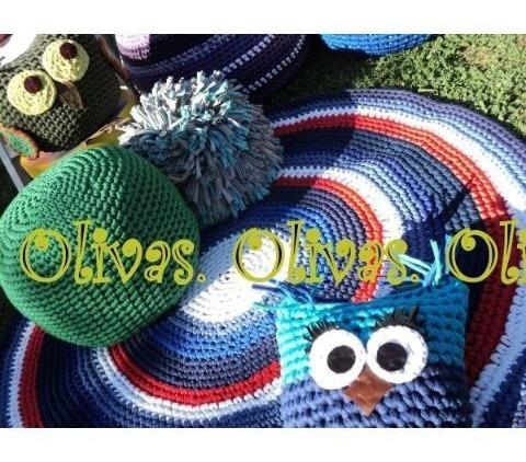 almohadones puff buhos totora decora hermosos super precio!!