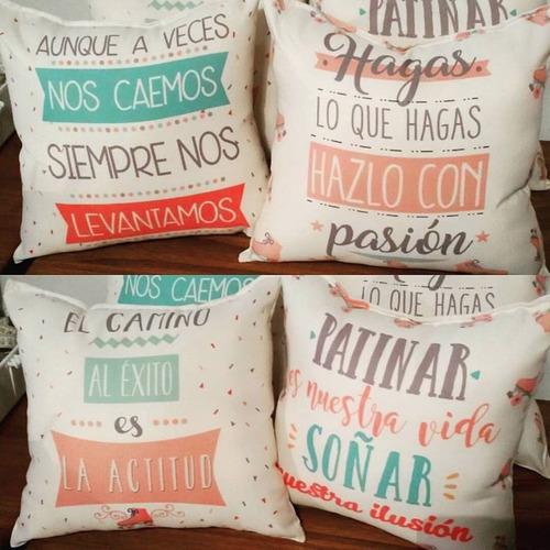 almohadones souvenirs cumple 15. 30x30 cm. 10 unidades