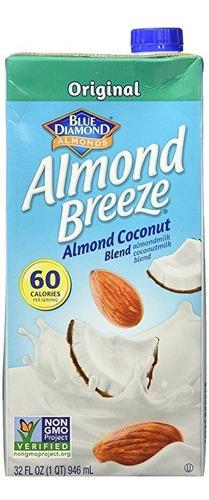 almond breeze almendra mezcla de leche, almendra de coco ori