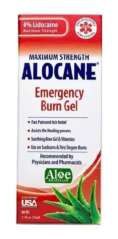 alocane lidocaina anestésico tópico medico y estético